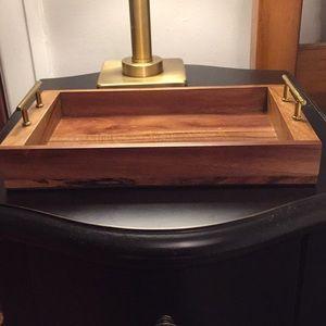 Wooden Vanity Tray